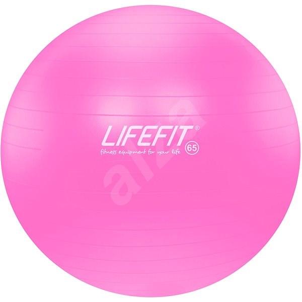 Lifefit Anti-Burst 65 cm, ružový - Gymnastická lopta