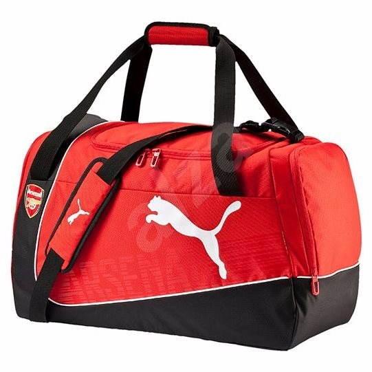 44f58fa328 Puma Arsenal stredná taška Puma Red-Bl - Športová taška