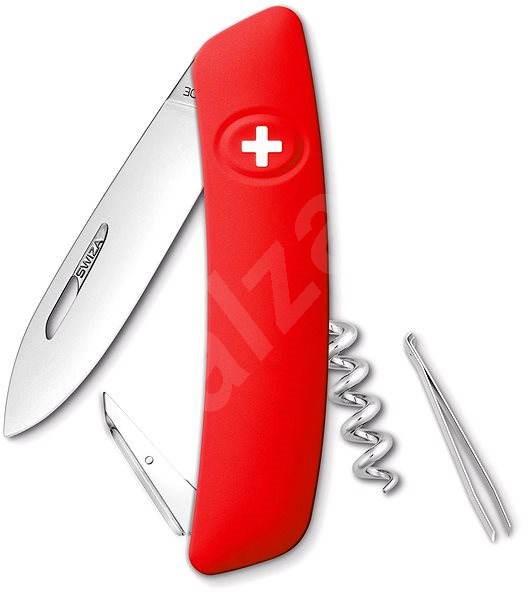 Swiza D01 red - Nôž
