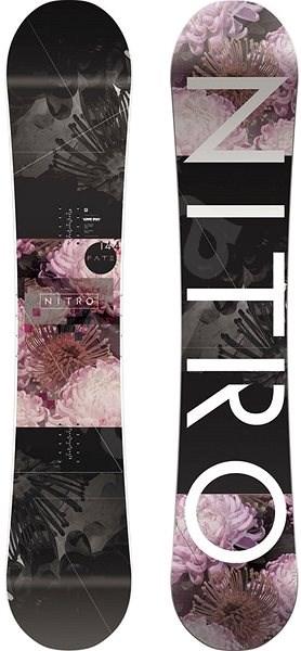 Nitro Fate vel. 153 cm - Snowboard