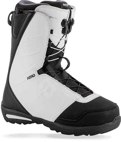 Nitro Vagabond TLS Black - White veľ. 43 1/3 EU/285 mm - Topánky na snowboard
