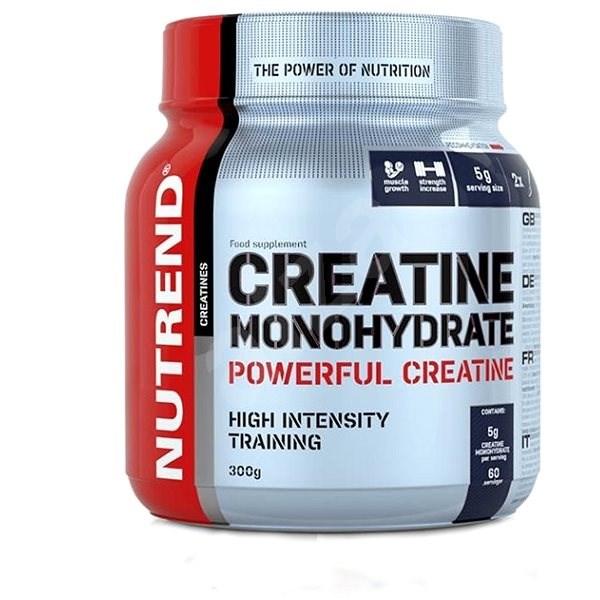 Nutrend Creatine Monohydrate, 300 g - Kreatín