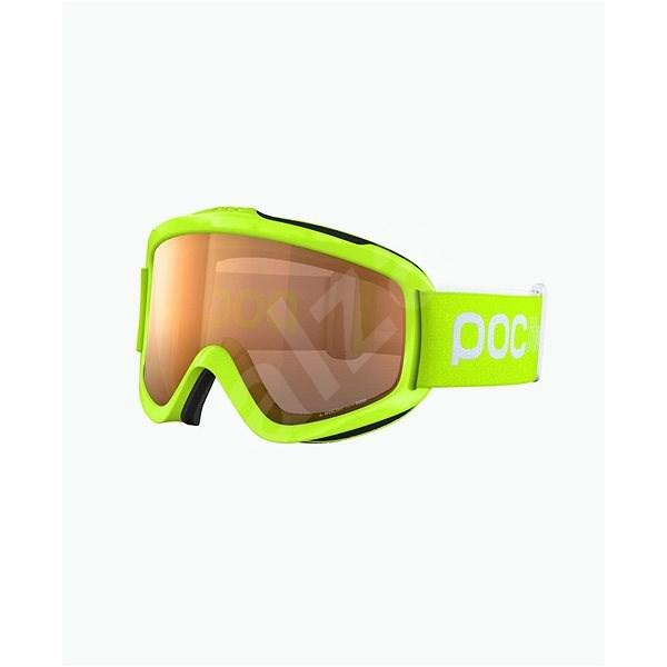POC POCito Iris fluorescent yellow green one size - Lyžiarske okuliare 21568968914
