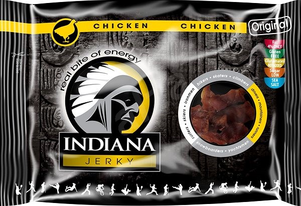 Jerky chicken (kuracie) Original 100 g - Sušené mäso
