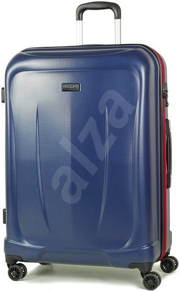 3a1372e79fb3f Cestovný kufor ROCK TR-0165/3-L ABS – modrý - Cestovný kufor s TSA ...