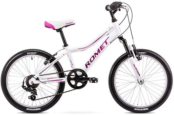 "ROMET JOLENE 20 KID 2 white-pink - Detský bicykel 20"""