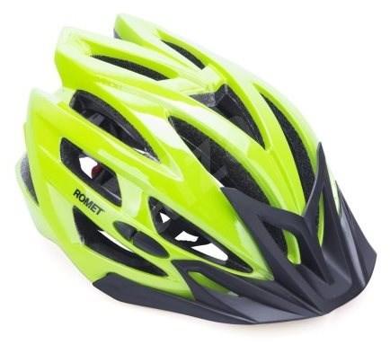 Romet 151 zelená L - Prilba na bicykel