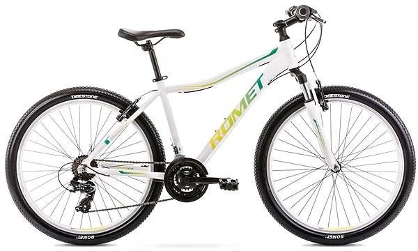 "ROMET JOLENE 6.0 white vel. M/17"" - Dámsky horský bicykel 26"""