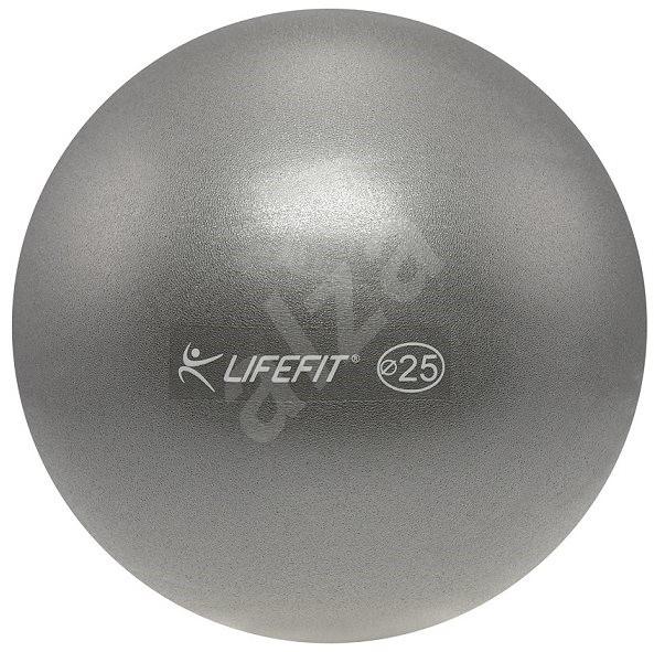 Lifefit overball 25 cm, strieborná - Gymnastická lopta