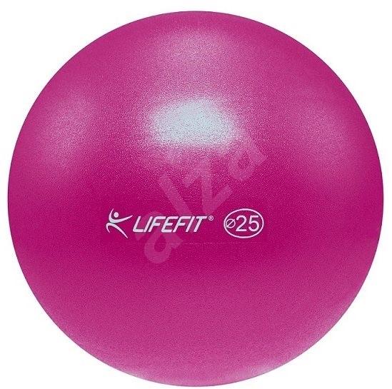 Lifefit overball 25 cm, bordová - Gymnastická lopta