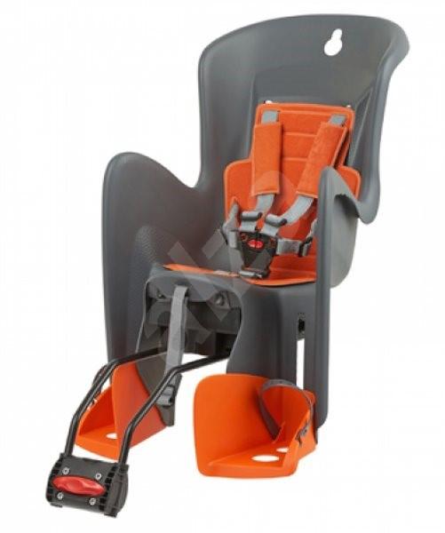 3d67dc9d57 Polisport Bilby sivo-oranžová - Detská sedačka na bicykel