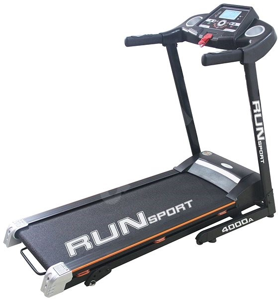 Run sport čierny - Bežecký pás