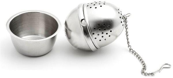 Weis čajové sitko oválne s miskou - Kuchynské náradie
