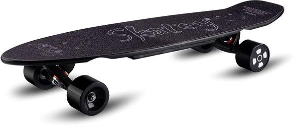 Skatey 350L čierny - Elektro longboard  45eb1728f3