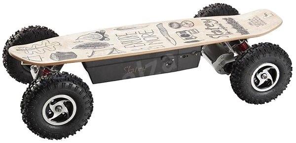 Skatey 800 Off-road wood art - Elektro longboard  4816714501