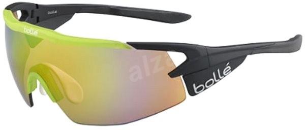Bollé Aeromax Matte Black Translucent Green Brown Emerald oleo AF -  Lyžiarske okuliare ba9f8aa7217
