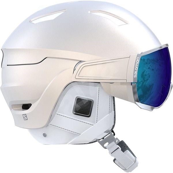 Salomon Mirage+ W White - Dámska lyžiarska prilba  d9ae7e6bc01