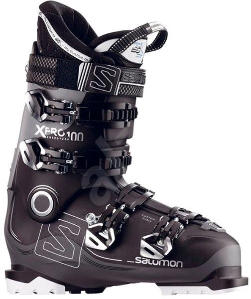 Salomon X Pro 100 Black Anthracite Light Grey - Pánske lyžiarske topánky a450dd7e6ab