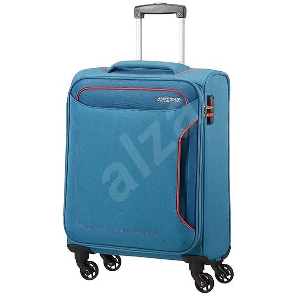 601862cac723b American Tourister Holiday Heat Spinner 55 Denim Blue - Cestovný kufor s  TSA zámkom