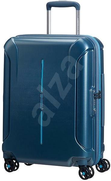 40c9c22efe8cc American Tourister Technum Spinner 55 Metallic Blue - Cestovný kufor s TSA  zámkom