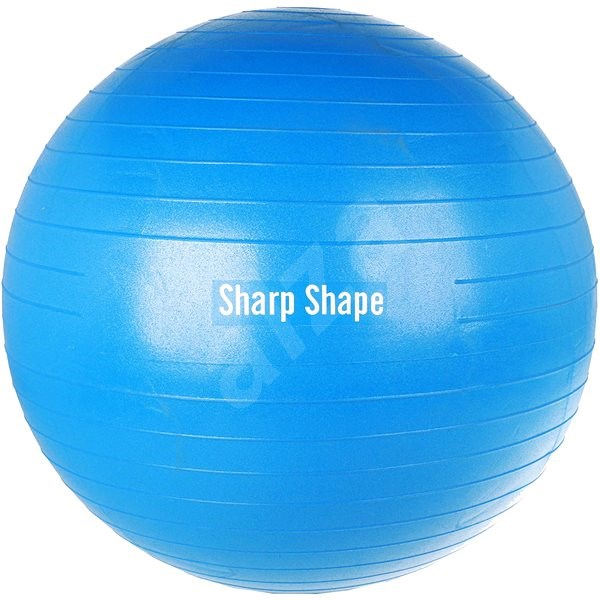 Sharp Shape Gym ball blue 75 cm - Gymnastická lopta