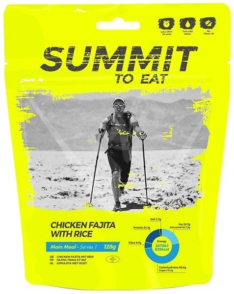Summit To Eat – Kurča Fajita s ryžou - Trvanlivé jedlo