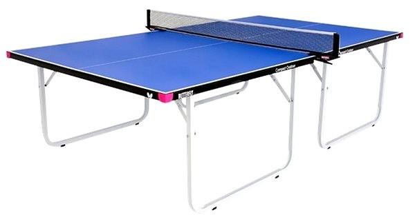 Butterfly Compact Outdoor modrý - Pingpongový stôl