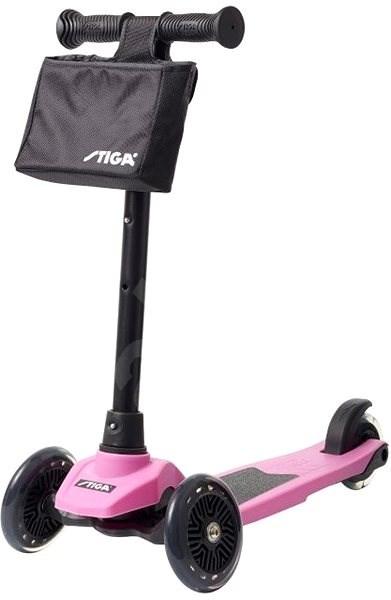 STIGA Mini Kick Supreme, ružová - Detská kolobežka