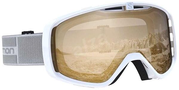 Salomon AKSIUM ACCESS Whit/Uni Tonic O - Lyžiarske okuliare
