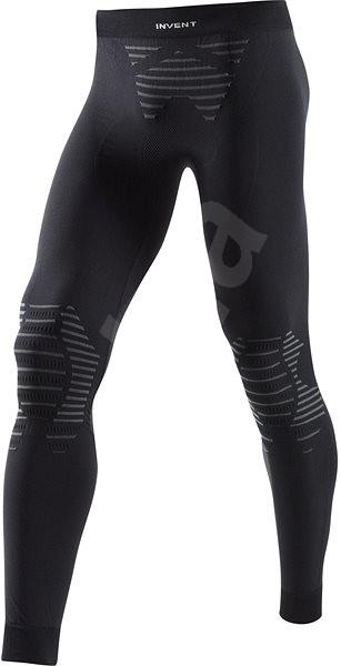 X-BIONIC - Man Invent nohavice dlhé čierne / antracit veľkosti XL - Pánske termonohavice