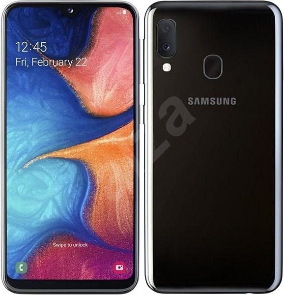 Samsung Galaxy A20e Dual SIM čierna - Mobilný telefón