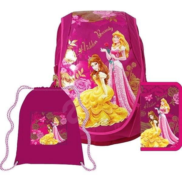166a34c364 Anatomický batoh Abb Set - Disney Princezné - Školská súprava