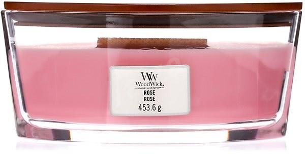 WOODWICK Rose Hearthwick Candle 453,6 g - Sviečka