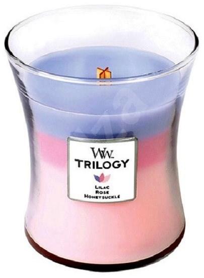 WOODWICK Botanical Gardens Trilogy Medium Candle 275 g - Sviečka