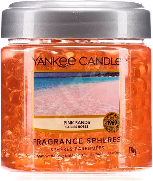 YANKEE CANDLE Pink Sands vonné perly 170 g - Vonné perly
