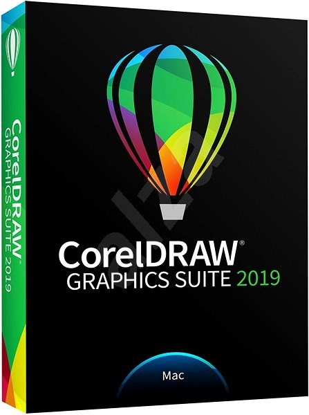 CorelDRAW Graphics Suite 2019 Mac BOX - Grafický program