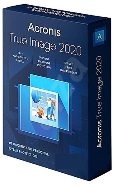 Acronis True Image 2019 CZ Upgrade pre 1 PC (elektronická licencia) - Zálohovací softvér