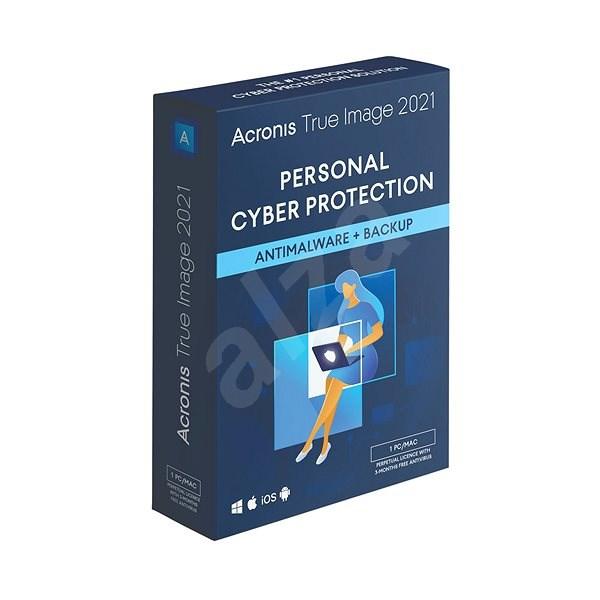 Acronis True Image 2021 Advanced Protection pre 1 PC na 1 rok + 250GB Acronis Cloud úložisko (elek. licencia) - Zálohovací softvér