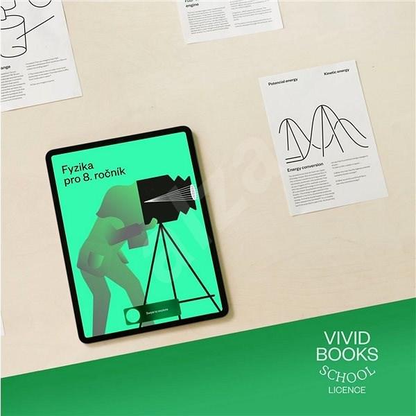 Vividbooks Fyzika pre 8. ročník – Energia a optika (elektronická licencia) - Vzdelávací program