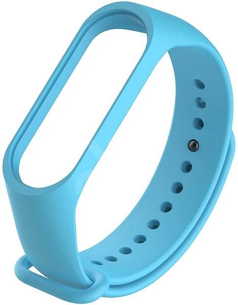 STX Mi Band 4 silikónový, svetlo modrý - Remienok