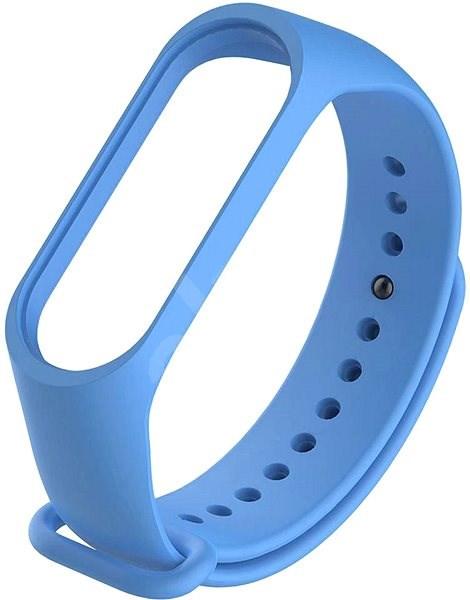 STX Mi Band 4 silikónový, modrý - Remienok
