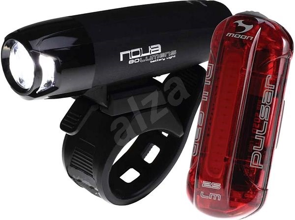 Moon Nova 80 Plus + Pulsar - Svetlo na bicykel