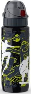 TEFAL DRINK2GO antikorová fľaša 0,6 l čierna-skateboard - Fľaša na vodu
