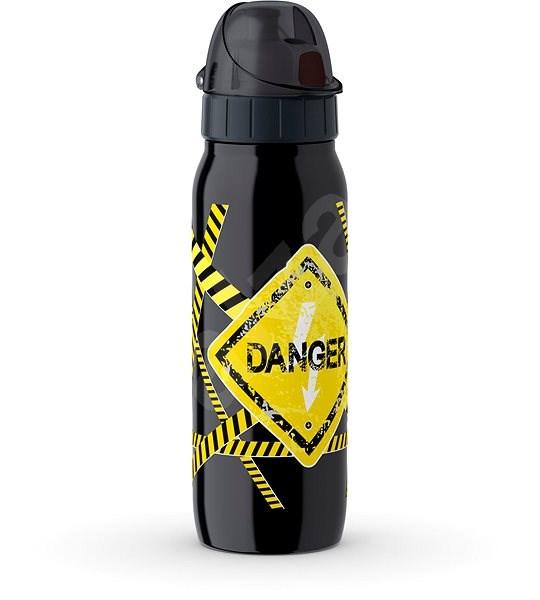 Tefal Vákuová nerezová fľaša 0,5 l ISO2GO čierna-danger K3182212 - Fľaša na vodu