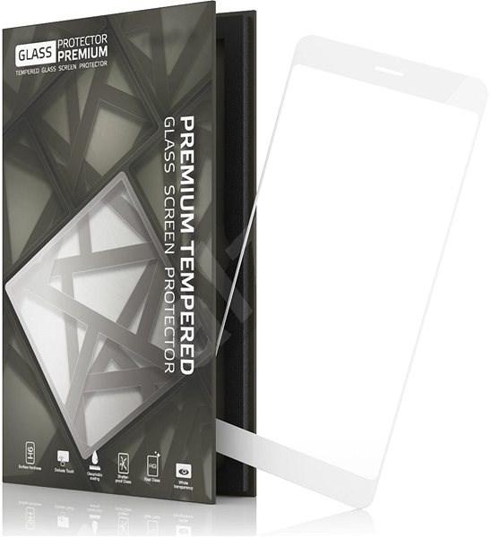 Tempered Glass Protector Rámčekové pre Xiaomi RedMi 5 Biele - Ochranné sklo