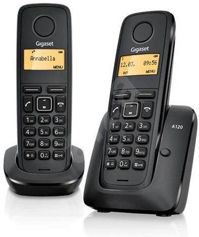 GIGASET A120 Duo - Telefón na pevnú linku
