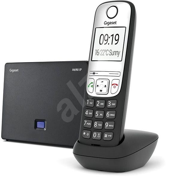 Gigaset A690IP strieborný - Telefón na pevnú linku
