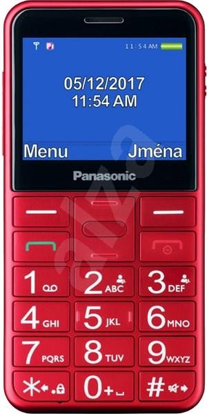 Panasonic KX-TU150EX červený - Mobilný telefón