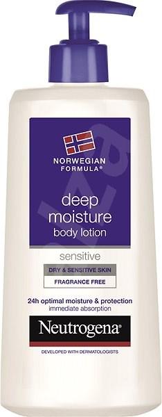 NEUTROGENA Deep Moisture Body Lotion Sensitive 250 ml - Telové mlieko