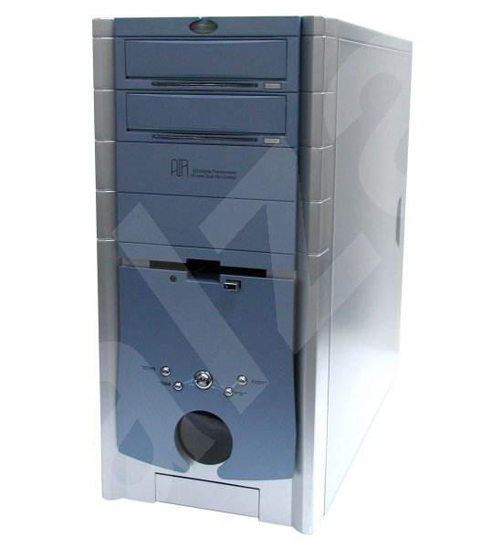"3R System MiddleTower AIR modrý (cyber blue) - 4x 5.25"", 1+7x 3.5"", bez zdroje - Počítačová skříň"